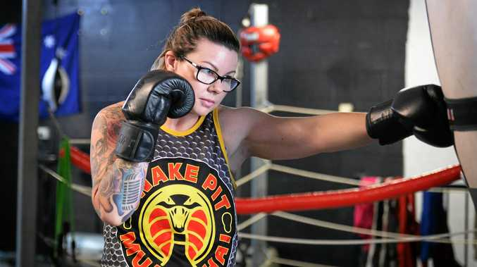 POWERING ON: Bec Martin is fighting fit and in a great place physically and mentally after losing more than 50kg.