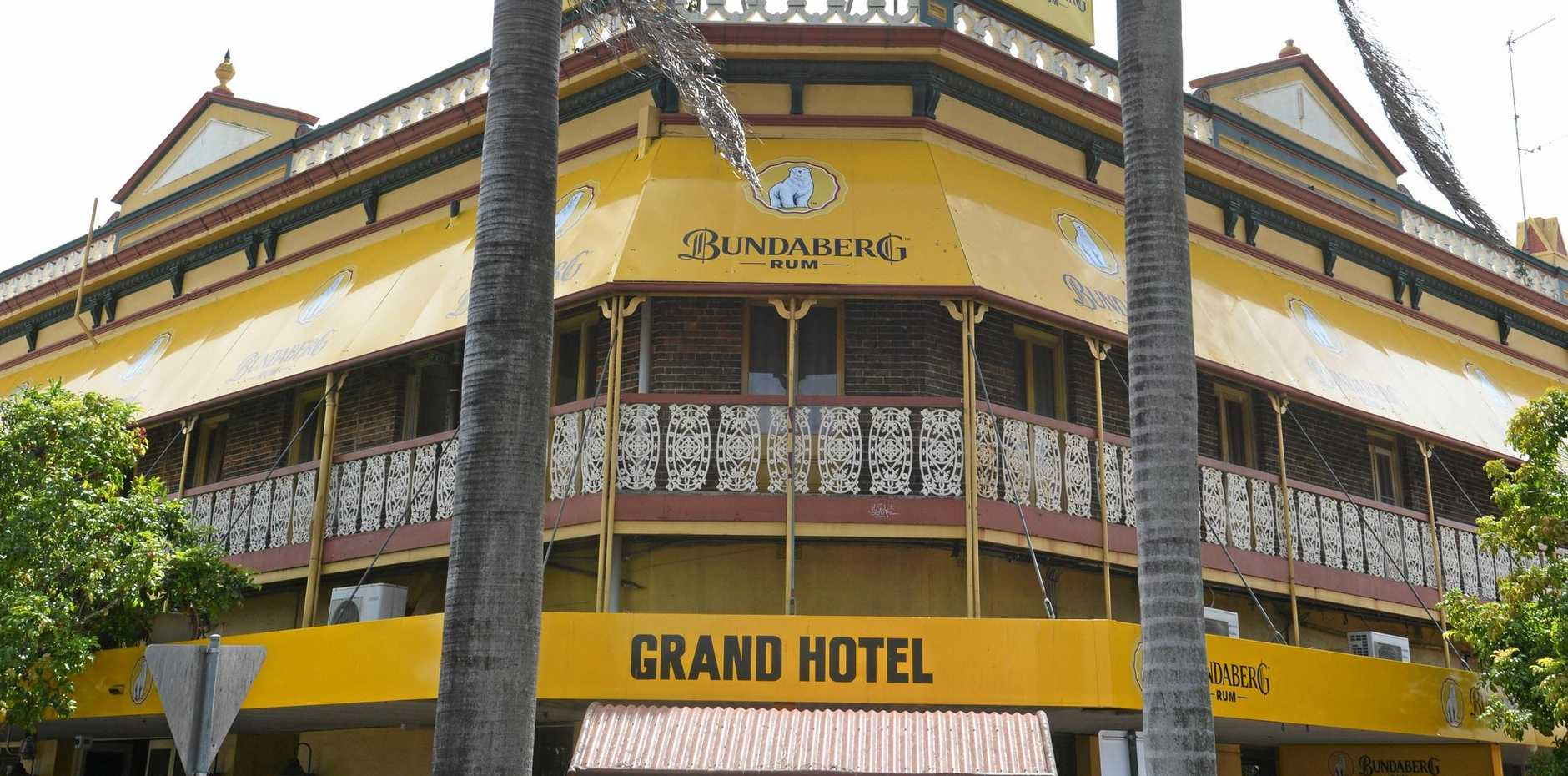 LIQUIDATION: The Grand Hotel Bundaberg has been ordered to wind up by the Federal Court of Australia.