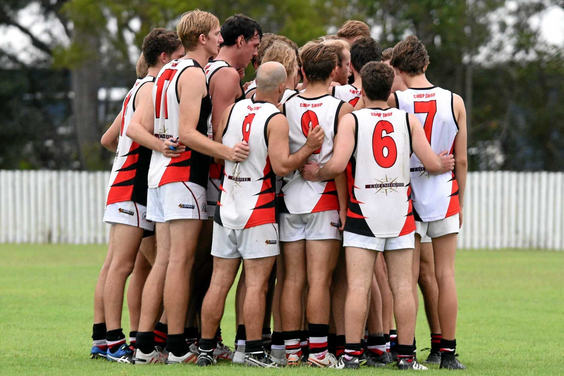 The Brothers Bulldogs at Keith Dunne Oval earlier this year. The side must win today to stay alive in the finals.