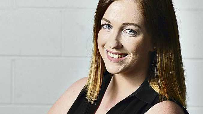 Sunshine Coast Daily journalist Danielle Ford.