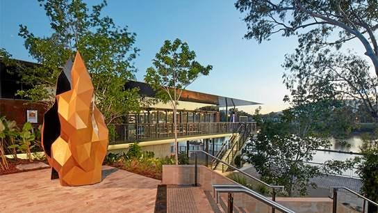 Rockhampton Riverside project was recognised in the Master Builders Awards.