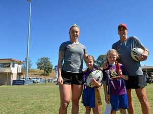 NRLW Broncos inspire Gympie's young females