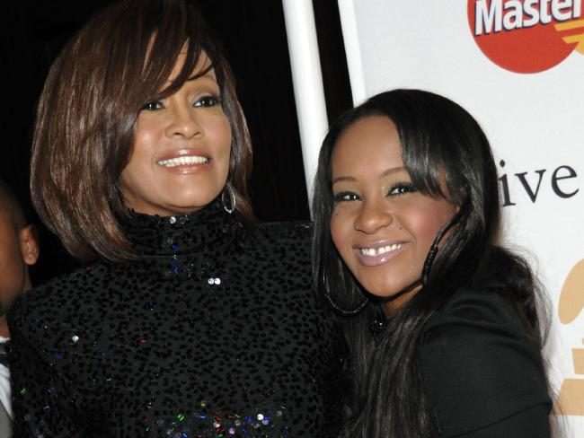 Whitney Houston and daughter Bobbi Kristina in 2011. Within four years the mother and daughter would both be dead. Picture: AP