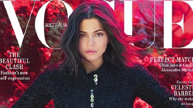 Kylie Jenner lands first Vogue cover