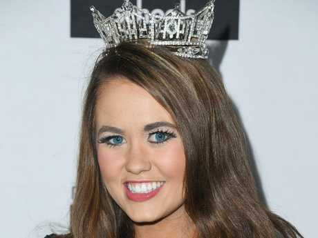 Reaching the end of her reign, Cara Mund has revealed Miss America ain't all it's cracked up to be. Picture: Getty
