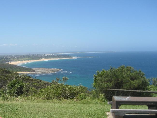 You can't beat some of the views on the Central Coast, including this one of Crackneck Point lookout in Bateau Bay.