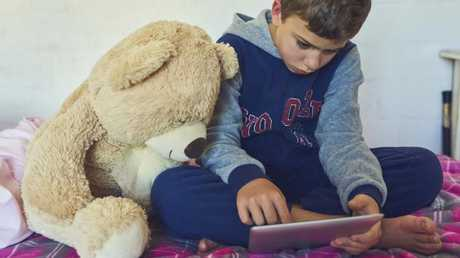 Children are being exposed to violence and pornography through digital devices. (Pic: iStock)