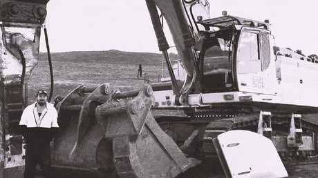 Andrew Wahlert died on a building site at Wallan. Pic Supplied.