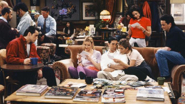 So 90s, but so now … The gang in Central Perk.