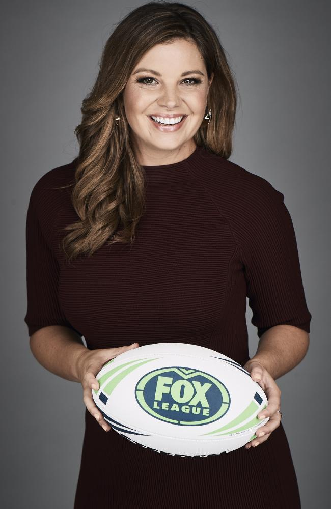 FOX Sports presenter Yvonne Sampson. Picture: News Corp