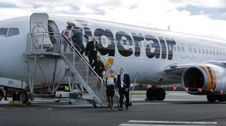 VCAT found Tiger did not comply with its own compensation and cancellation policies but not ensuring a Melbourne family were put on the next available flight at no extra cost. Picture: Mathew Farrell