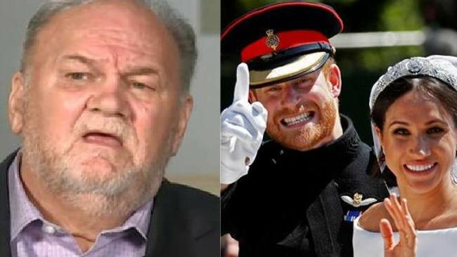 Thomas Markle has not spoken to his daughter since her wedding.