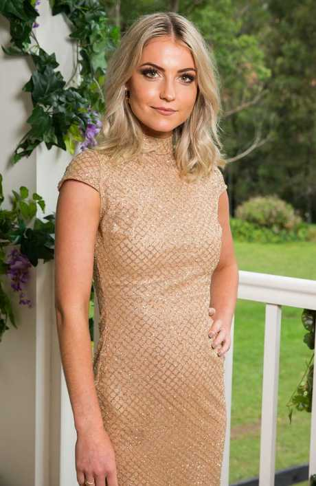 The Bachelor's Shannon Baff has been embroiled in a racism controversy. Picture: Ten
