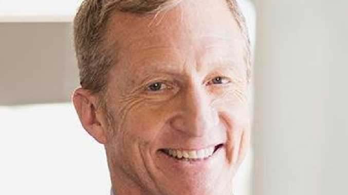Tom Steyer says Donald Trump should be impeached for corruption. Picture: Twitter