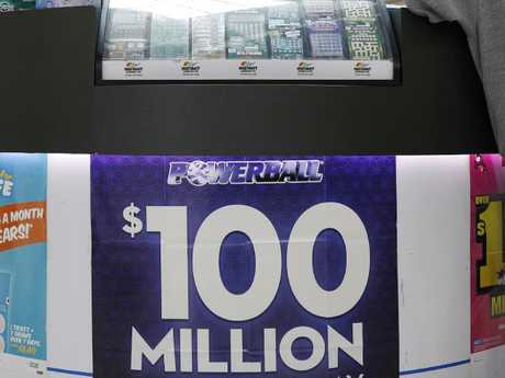 A Sydney man has claimed his $50m share of the $100m Powerball draw. Picture: AAP Image/Erik Anderson