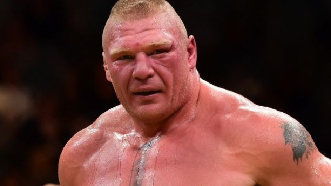 Brock Lesnar is no normal human.