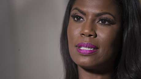 Television personality and former White House staffer Omarosa Manigault Newman has made shocking claims against the President in her new tell-all book, Unhinged. Picture: AP Photo/Mary Altaffer