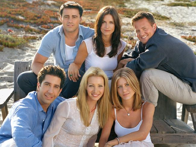 As popular as ever: Joey (Matt LeBlanc), Monica (Courteney Cox), Chandler (Matthew Perry), Rachel (Jennifer Aniston), Phoebe (Lisa Kudrow) and Ross (David Schwimmer).