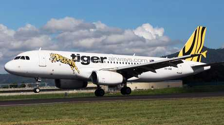 Tiger Airways has been ordered to pay a family's costs after cancelling their flight home from a tropical getaway. Picture: Tom Lee