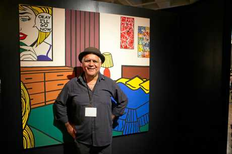 Artist and activist Richard Bell was announced as the 2018 Gold Award winner at the Rockhampton Art Gallery.