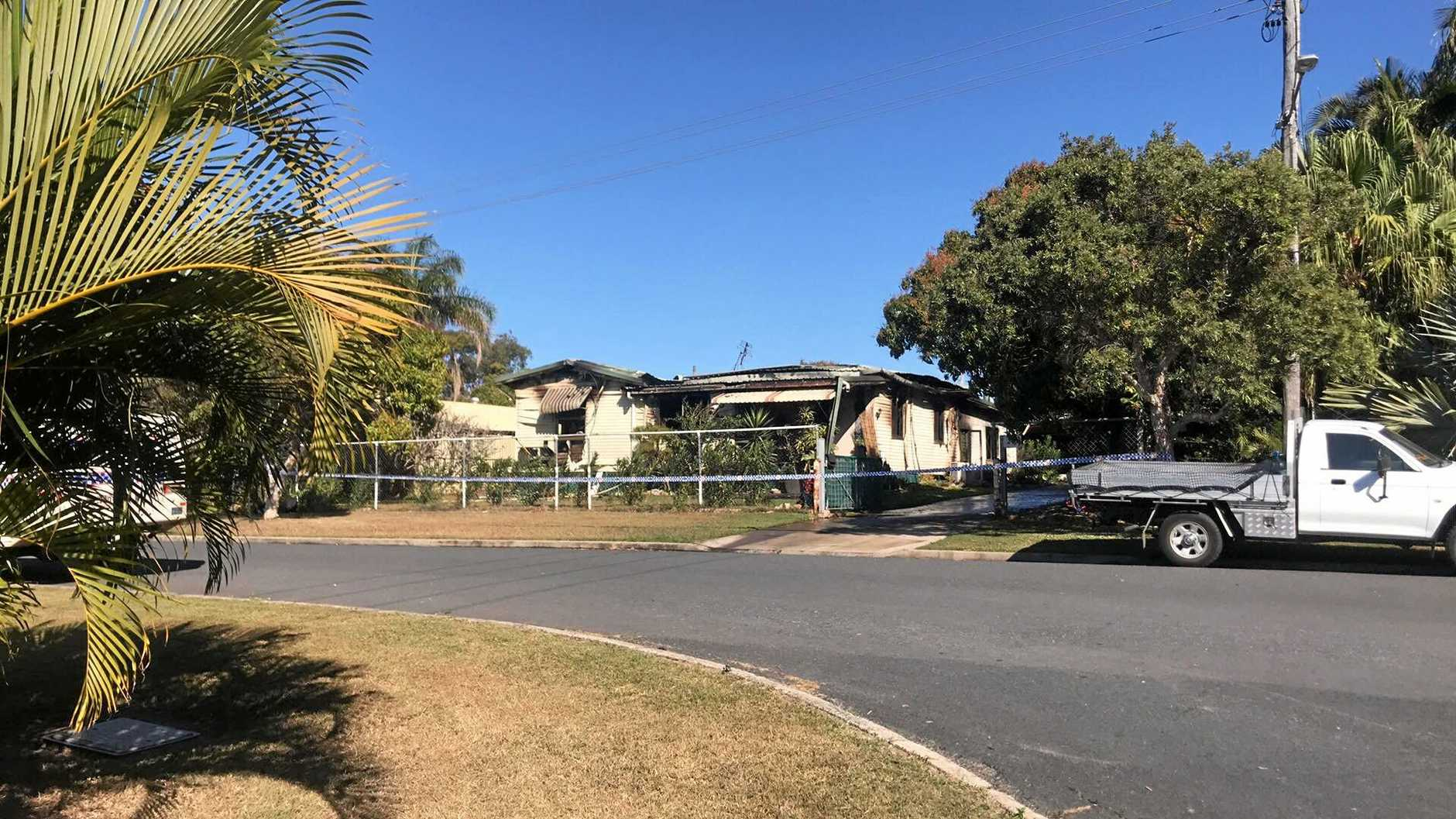 A Yeppoon home in Maple St was gutted by fire in the early hours of the morning.