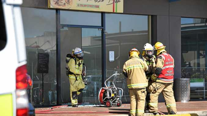 Fraser Coast shopping centre evacuated after fire breaks out