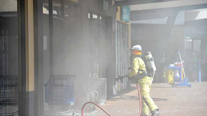Quick actions prevented shopping centre fire from spreading
