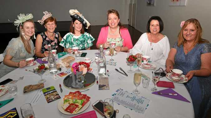 Photo gallery: Style on show at Bundy high tea