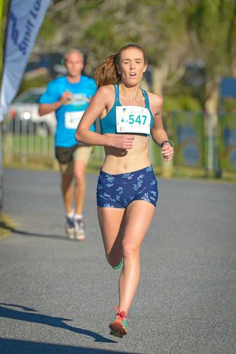 Alexandra Blake won the Open Female 8km race.