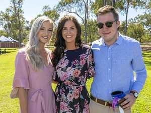 Check out the style trackside from the Yeppoon Races