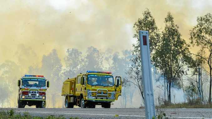 Bushfire blazes in Binjour