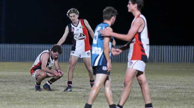 DOGFIGHT: Bay Power bested Brothers Bulldogs 11.13-79 - 5.10-40 in the AFL Wide Bay elimination final at Keith Dunne Oval, Hervey Bay. This could be the first time in history a Bundaberg club has not qualified for the AFL Wide Bay seniors preliminary or grand finals.