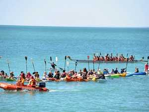 Paddlers take to the water for Hervey Bay's whales