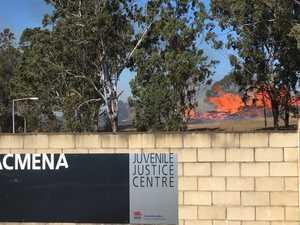 Fire adjacent to Acmena