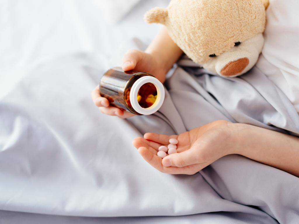 Parents worry about correct dosing for children. Picture istock