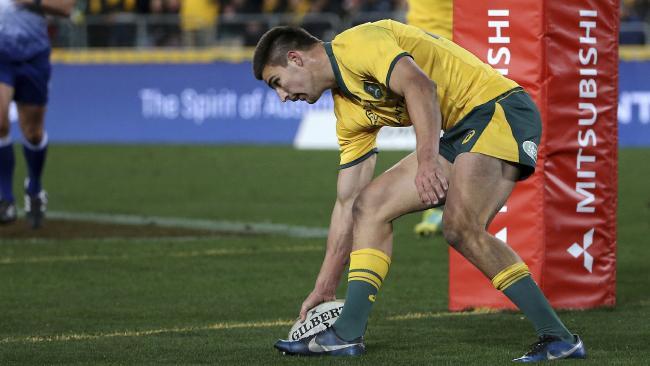 Will Jack Maddocks fill Israel Folau's spot? Picture: AP Photo