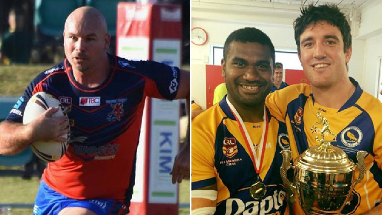Glenn Stewart and Joel Reddy are doing their bit to give back to rugby league.