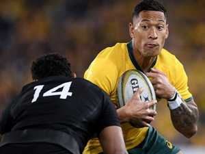 Cheika reveals extent of 'rare' Folau injury