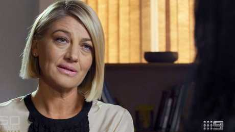 60 Minutes' Tara Brown, spoke to Islam Mitat. Picture: Channel 9.