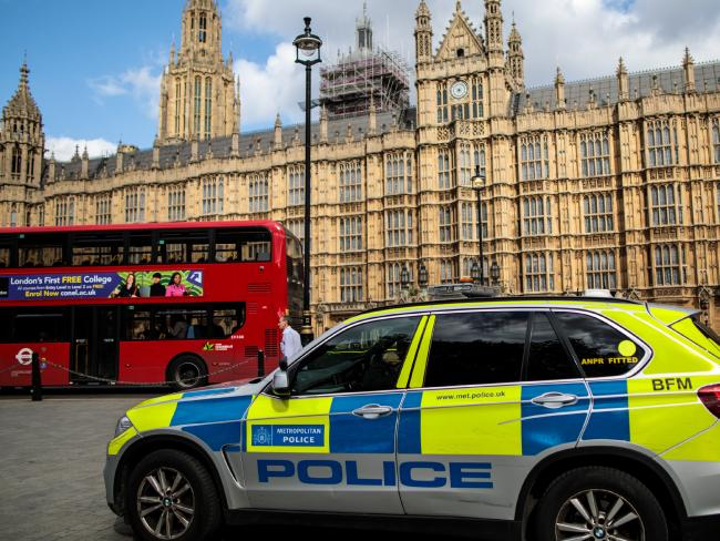 Khater is alleged to attempted to kill two police officers outside the Houses of Parliament.