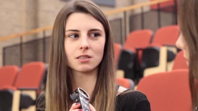 Wilfrid Laurier University graduate student Lindsay Shepherd.