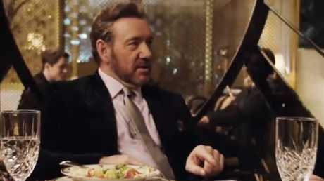 Kevin Spacey in Billionaire Boys Club, Picture from the trailer.