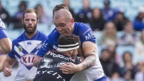 Klemmer has enjoyed a top season for the struggling Bulldogs. AAP Image/Craig Golding.