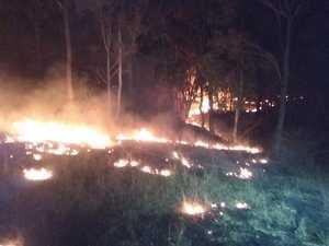 Teelah bushfire