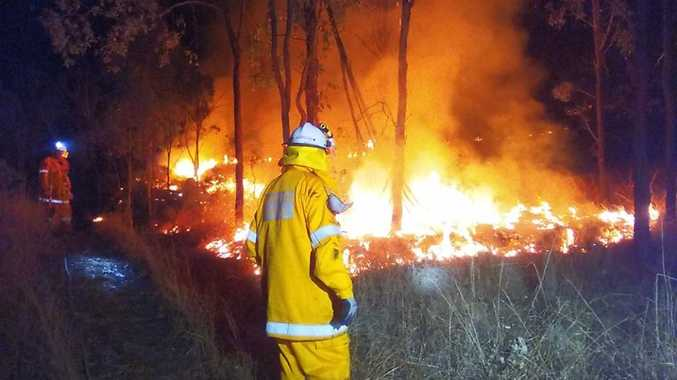 STAY INFORMED: Crews still on scene at Teelah bushfire