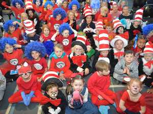 PHOTO GALLERY: Coast school sets Dr Seuss world record