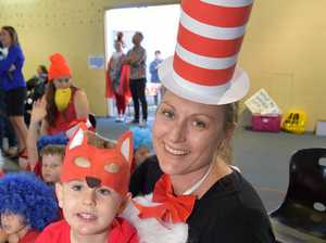World record attempt most Dr Seuss characters at