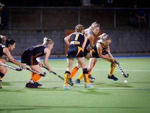 Womans A1 hockey grand final - Gladstone Meteors vs