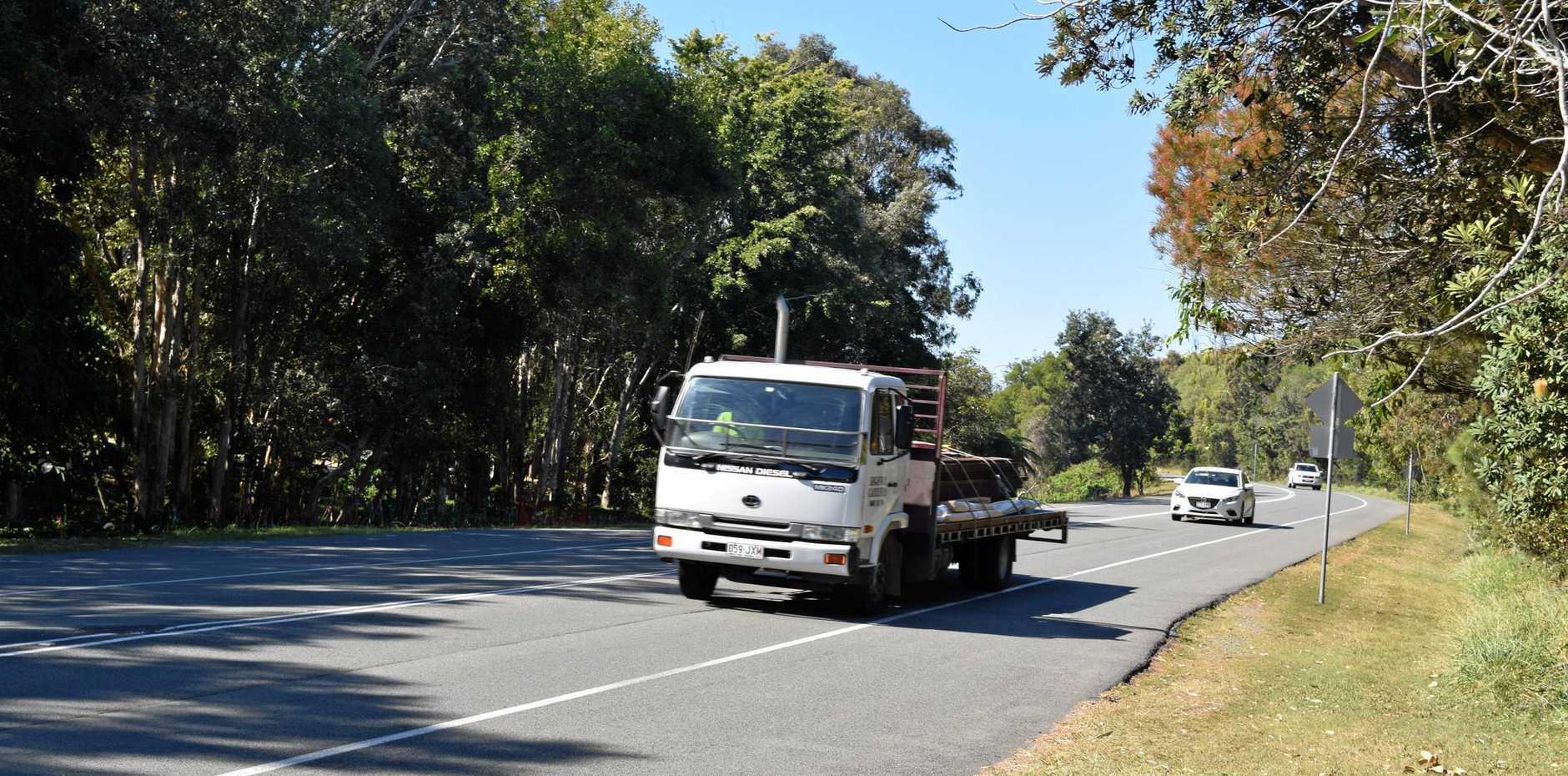 Heathland Drive return of nature funnels traffic noise