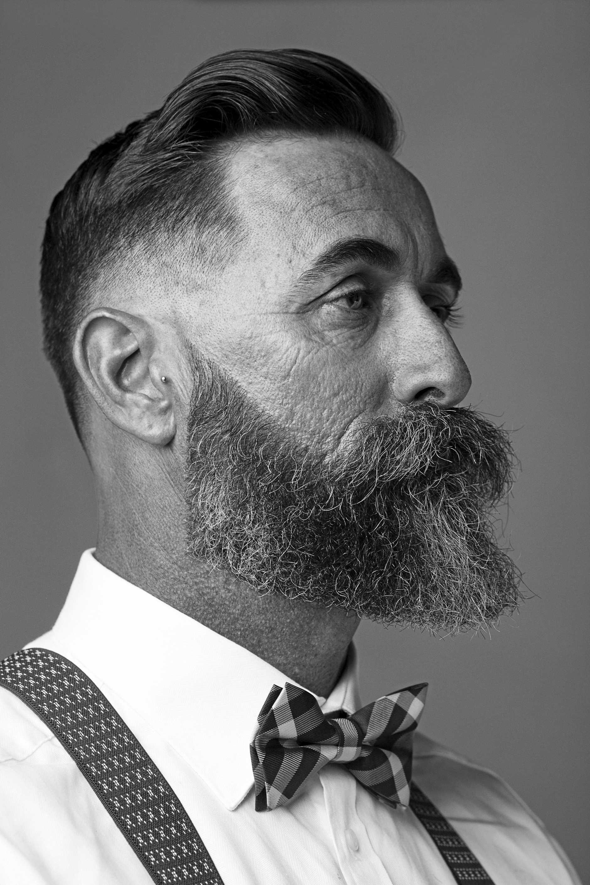SHARP LOOK: image of beard work from The Garage Barbershop